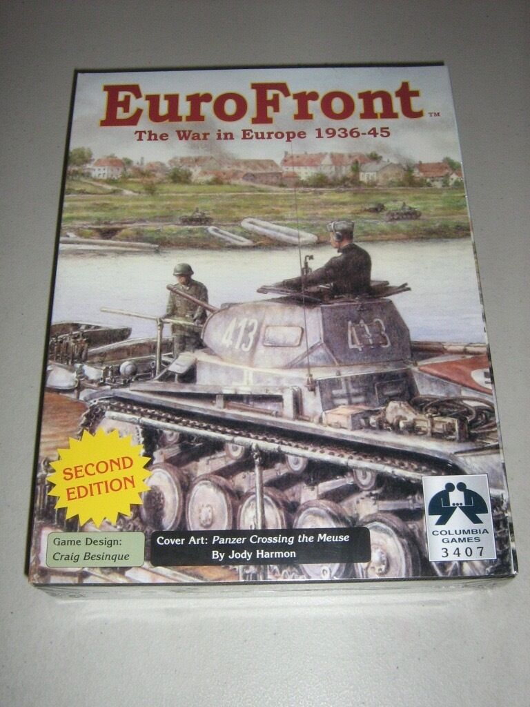 EuroFront  The War in Europe 1936-45 (New)