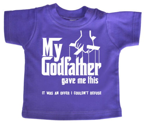 """Godfather Baby TShirt /""""My Godfather Gave Me/"""" This Christening Godson Goddaughter"""