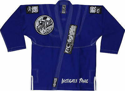 Ck Fightlife Uomo Limited Concorrente 2013 Lotta Life Uomo Bjj Gi reale Blu Rich In Poetic And Pictorial Splendor Boxing, Martial Arts & Mma Sporting Goods