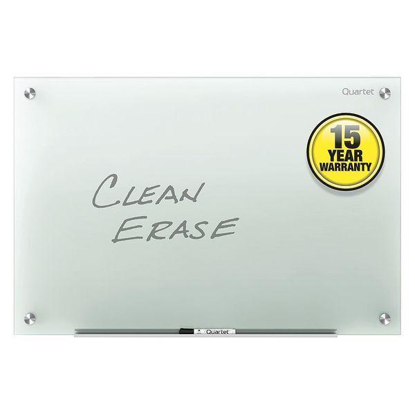 QUARTET G9648F-A 48 x96   Glass Whiteboard, Gloss