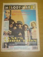 MELODY MAKER 1991 FEB 23 JANES ADDICTION SOHO MOOSE
