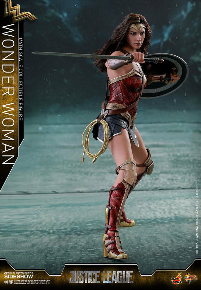 Justice Justice Justice League Movie 11 Inch Figure MMS 1/6 Scale - Wonder Woman Hot Toys 903249 f92018