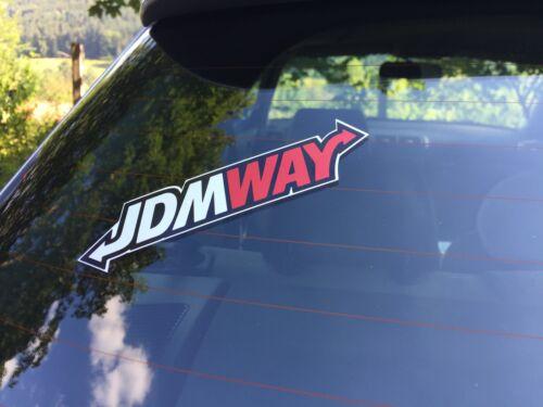 JDM Aufkleber JDMWAY Sticker domokun pedobär drift pic sticker rising  s69