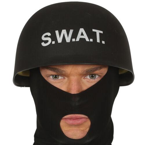 Polizeihelm schwarz S.W.A.T Helm SWAT Schutzhelm Sondereinheit Polizei Agent