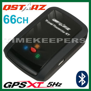 qstarz bt q1000xt 5hz 66 ch bluetooth gps receiver data tracker travel recorder ebay. Black Bedroom Furniture Sets. Home Design Ideas
