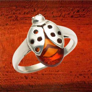 Sterling-Silver-Ladybug-w-Amber-Body-Ring-R221