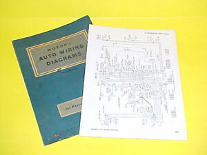 1950 1951 1952 1953 1954 1955 1956 studebaker champion packard wiring diagrams the old car