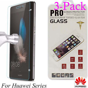 3-Tempered-Glass-Film-Screen-Protector-For-Huawei-P20-P8-P9-P10Plus-Lite-Honor-9
