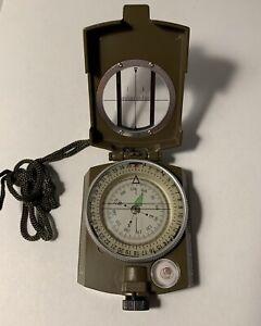 Profi-Tasche-Militaer-Kompass-Metall-Neigungs-Wandern-Sichtung-Camping-USA