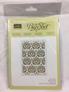 NIP You Choose Stampin Up Textured Impressions Embossing Folder