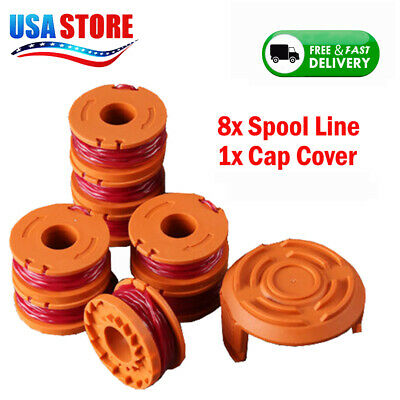 Trimmer Line 6pcs for WA0010 Replacement Lithium Battery for Worx 20v WA3520