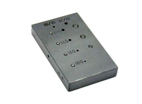Steel Anvil Riveting Block