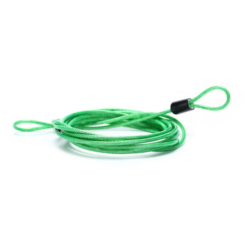 200CM x 2.5MM Cycling Sport Security Loop Cable Lock Bicycle Scooter U-Lo RS