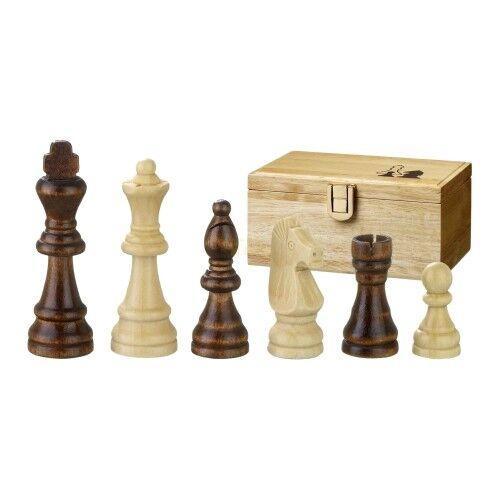 Chess Figures - REMUS - Wood - Staunton - Kings Height 76 Mm