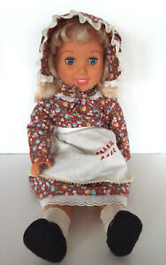 Little-House-On-The-Prairie-Rose-Doll-18-034-M-I-I-Jointed-Plastic-1997
