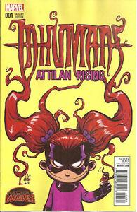 Inhumans-Attilan-Rising-1-Variant-Skottie-Young-Marvel-Comics-NM-C546