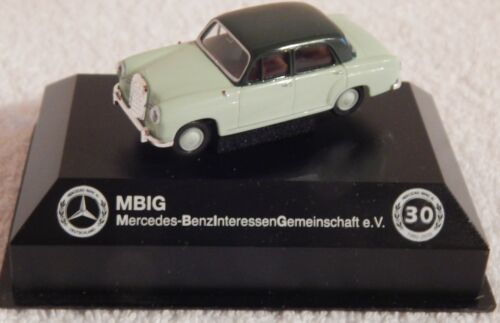 MBIG Mercedes Ponton Modell 30 Jahre MBIG 1:87 Brekina Grün