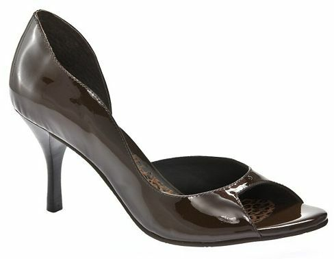 155 DIEGO DI LUCCA Rona Pumps  Patent Leather Marroneee  Dimensione 6, 9.5 & 10 M  NEW