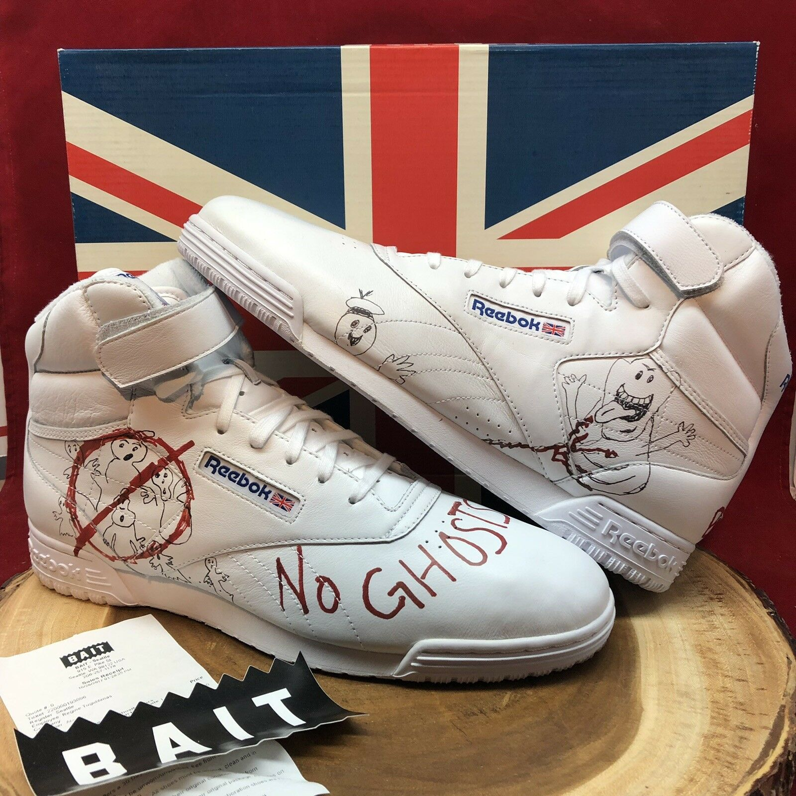 Reebok x Bait Ex-o-fit Stranger Things Ghostbusters ComplexCon limited size 13