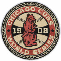 Chicago Cubs Authentic 1908 World Series Champions Collector Patch Mlb