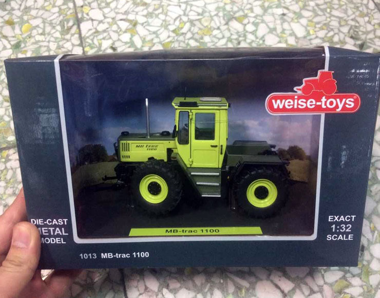 Weise-toys 1 32 Scale Die-Cast Metal Model 1013 MB-Trac 1100