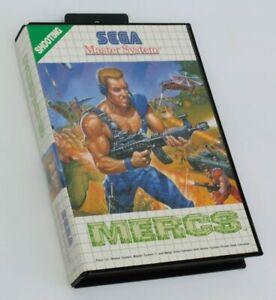 Mercs , Sega Master System