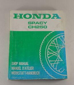 Werkstatthandbuch-Workshop-Manual-Honda-Spacy-CH-250-von-1985