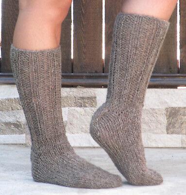 Organic Wool Socks Brown Sheep Wool from Ireland