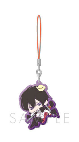 Hitman Reborn Hibari Rubber Phone Strap Anime Manga NEW