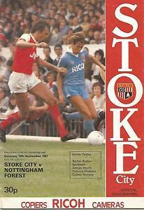 Stoke-City-v-Nottingham-Forest-Div-1-19-9-1981-Football-Programme