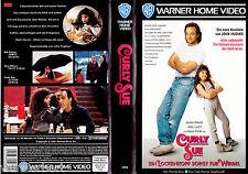 """VHS - """" Curly SUE - Ein Lockenkopf sorgt für Wirbel """" (1991) - James Belushi"""