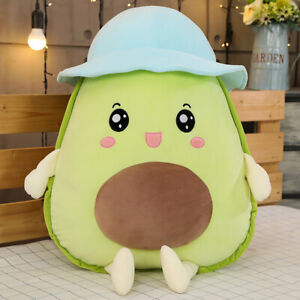details about cute avocado doll plush toy stuffed pillow filled cushion unique gift