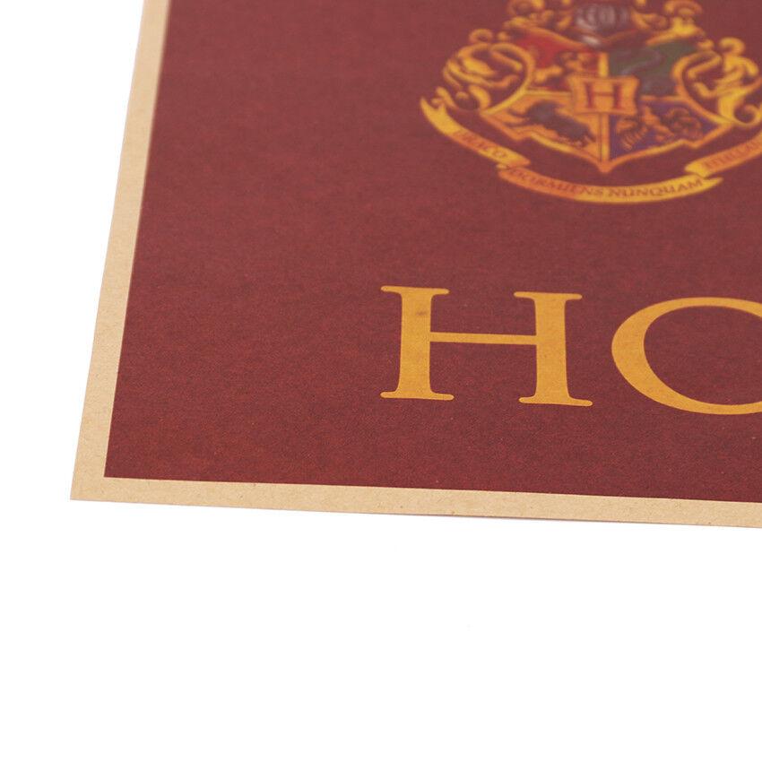 NEW Art Posters 9 3/4 Platform Movie Vintage Paper Harry Potter Movie Home Decor