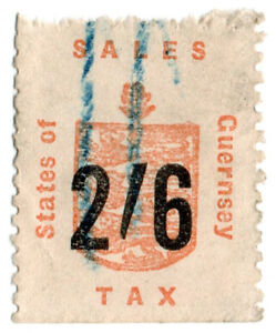 I-B-Guernsey-Revenue-Sales-Tax-2-6d-German-Occupation