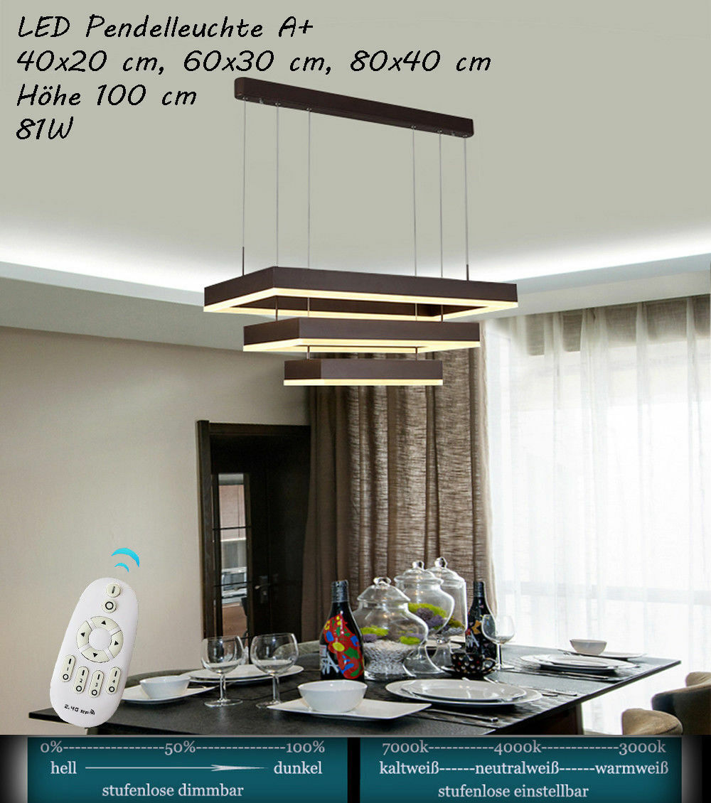 DEL ldd146 lumière lumière lumière de couleur et luminosité réglable Pendule Luminaire Acrylique économe Bon état | La Qualité  96b532