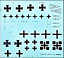 Roden-010-German-airplane-Fokker-DrI-World-War-I-1-72-scale-model-kit-100-mm miniature 7