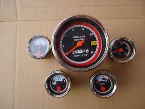oliver tractor gauges kit 1550 1650 1750 1755 1850 1855 1950 Tractor Oil Pressure Gauge image is loading oliver tractor gauges kit 1550 1650 1750 1755