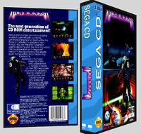 Microcosm - Sega Cd Reproduction Art Dvd Case No Game