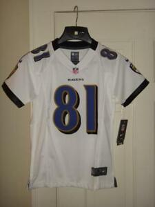 Details about Youth Nike Anquan Boldin Baltimore Ravens White Game Jersey Youth S (8)