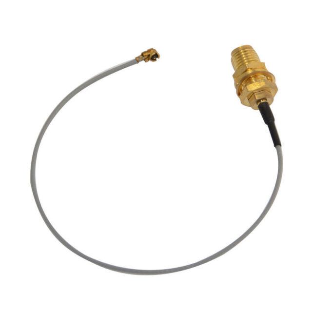 IPX / u.fl to SMA Jack female bulkhead pigtail cable Mini-PCI 15cm RF Assem W3O4
