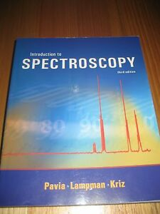 Introduction-To-Spectroscopy-Third-edition-book-Pavia-Lampman-Kriz