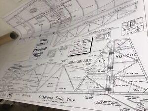 morris su do khoi 40 r c airplane kit plans templates ebay rh ebay com