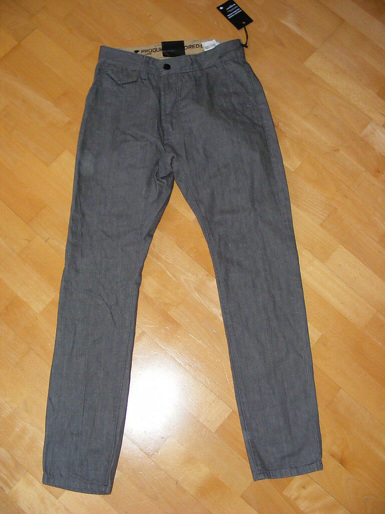 PRODUKT HOMME  Gr. W31 32  grey grey  Tailored Denim  Old five Jeans  NEU