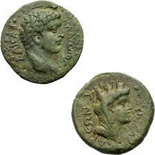 Claudius Kaisareia Asia Minor Anazarbos Caesarea Bronze 43 Tyche RPC 4084