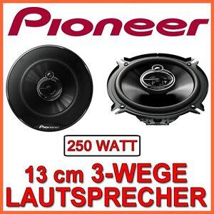250w pioneer ts g1333i 13cm 3 wege lautsprecher 130mm. Black Bedroom Furniture Sets. Home Design Ideas
