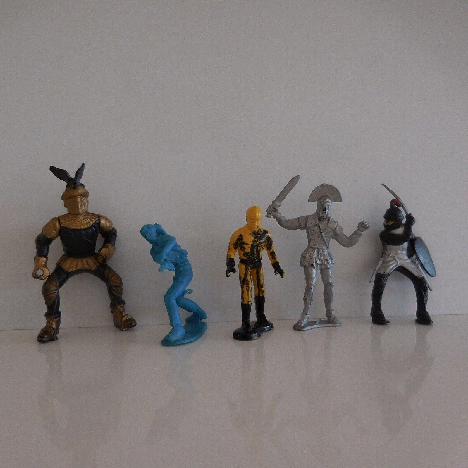 """5 figurfigurer  joules årgång kollektion konst d 65533; """" FRAMTIDEN France """",co design PN France"""