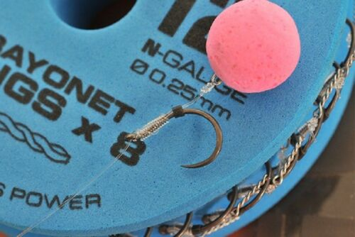 GURU QM1 BAYONET READY TIED RIGS ALL SIZES COARSE FISHING