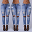 US-Women-Denim-Skinny-Long-Pants-High-Waist-Ripped-Stretch-Pencil-Jeans-Trousers thumbnail 2