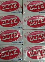 Zote Pink Soap 6 Bars 14.1oz Per Hand Wash Soap For Stains 400g Per