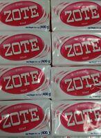 Zote Pink Soap 6 Bars 14.1oz Per Hand Wash Soap For Stains 400g Per